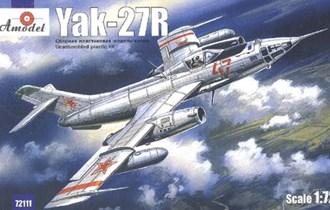 Maketa avion Jak-27 R Yakovlev Yak-27R
