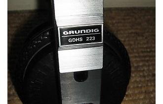 GRUNDIG GDHS 223, Vintage Stereo slušalice