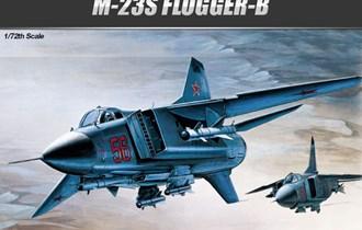 Maketa avion MiG-23 S Flogger B MiG