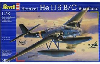 Maketa avion HEINKEL HE 115/BC SEAPLANE