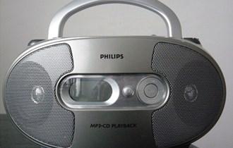 CD radio PHILIPS, čita sve CD-e i mp3,