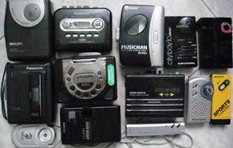 Walkmani na audio kasete, Panasonic, Philips i dr