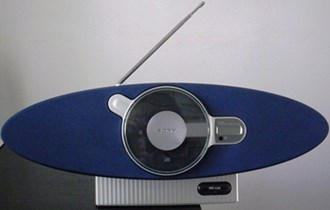 CD radio SONY, poseban dizajn, 9/220V, stereo