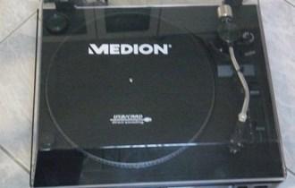 Gramofon Medion, novi, automatski, linijska komponenta, priključak USB