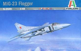Maketa avion MiG-23  MiG 1/48