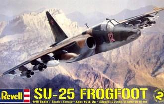 Maketa avion Suhoj Su-25 Frogfoot 1/48