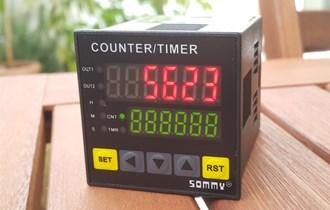 Mjerenje dužine dvosmjerno, Brojač A i B ulaz, 5kHz max CQ4-RC60