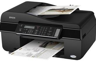 Printer-skener-kopirka-fax Epson office BX305F,sa jovim tintama,LCD !
