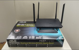Wireless wifi router ASUS RT-AC1200G+