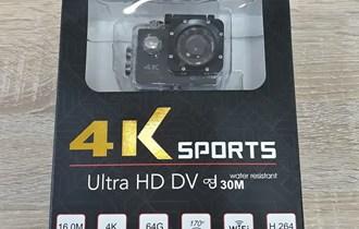 Ultra HD 4K akcijska WiFi kamera sa kučištem za pod vodu