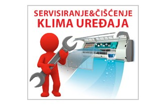 Servis klima uređaja/dezinfekcija