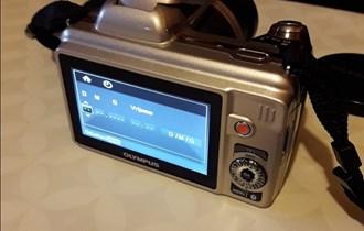 Olympus fotoaparat,36xzoom,14 megapixel