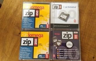 Zip diskete, 4 komada