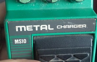 Ibanez MS10 Metal Charger Distortion Guitar Effect Pedal 80s