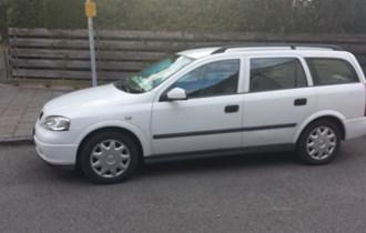 Opel Astra 1,6 benzin