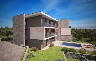 Malinska-Ekskluzivni apartman u modernoj vili na atraktivnoj lokaciji!