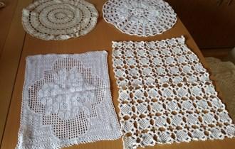 Ručni radovi - stolnjaci i tabletići