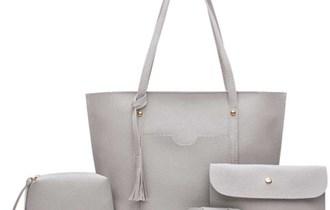 Set od 4 ženske torbice BOHO veliki.