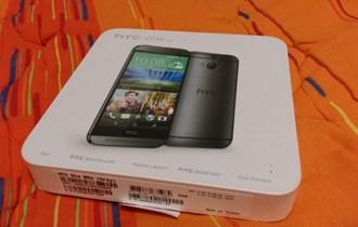 HTC One M8s, kutija, papiri, vizuelno stanje 10/10 (lošija baterija)