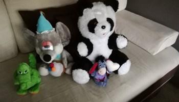 Komplet plišanih igračaka