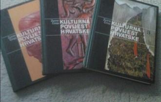Komplet Kulturna povijest Hrvatske1-3