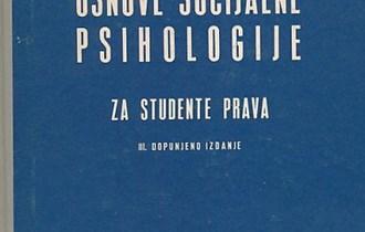 Osnove socijalne psihologije