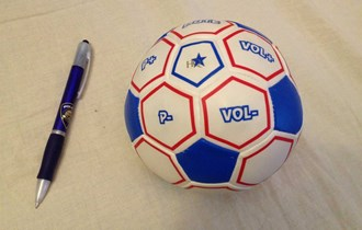 Nogometna lopta - daljinski komander