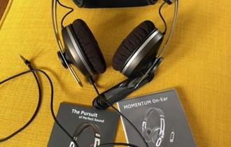 Slušalice Sennheiser Momentum On-Ear (smeđa boja)