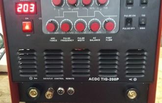 Inverterski ac dc tig aparat za varenje 200a