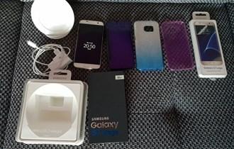 Samsung Galaxy S7 edge + oprema