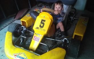 Karting tm125 shifter