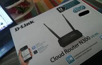 d-link cloud router/modem