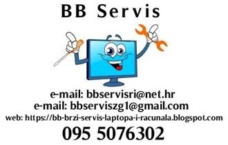 Brzi servis i popravak laptopa, računala, PC-a, 095 5076302