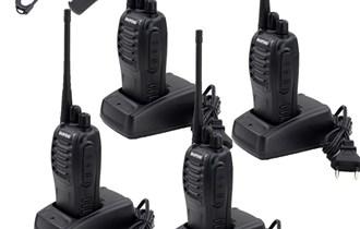 4 x voki toki radio stanica Baofeng BF-888s 400-470MHz UHF, NOVO!