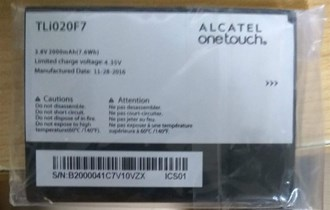 Alcatel onetouch PIXI4 baterija NOVA