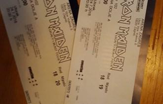 Iron Maiden 24.07.2018. ulaznice
