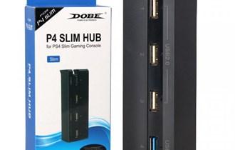 PS4 SLIM USB HUB 4 PORTA NOVO ZAPAKIRANO!!!!