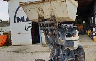 Mini demper terex hd 1200 hidrostatik 2009g 500h rada kipa i diže