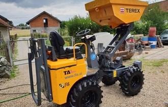 Mini demper Terex 1AHA 2014g kipa i diže 1.8m