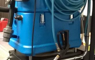 Ekstrakcijski stroj za čićenje s pjenom