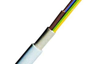 Vodič (N)YM-J (PGP) 3x2,5mm2, sa zašt. vodičem, sivi - 100m/400kn