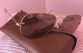 Ray Ban Aviator Metal Gold, Large, Novo, Original, Unisex