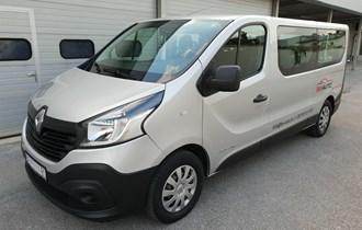 Najam putničkog Kombi vozila Renault Trafic Passenger