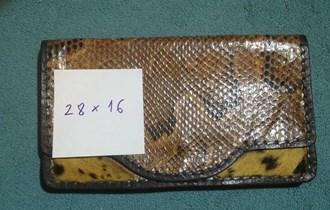 Ženska torbica od zmijske kože i Geparda