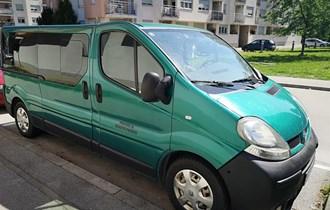 Najam putničkog vozila Renault Trafic 8+1