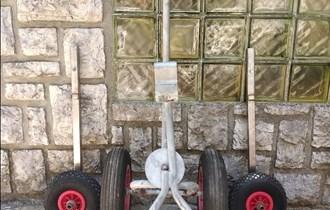 Komplet kotača/nosača za ručni prijevoz gumenjaka