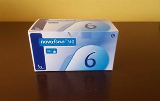 Novofine igle 6mm - POVOLJNO