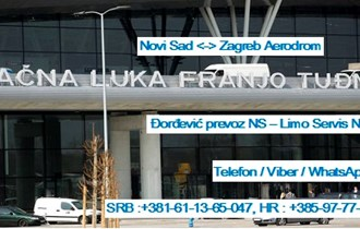 Prevoz Novi Sad - Aerodrom Zagreb - Novi Sad