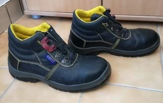 Radne cipele kozne sa celicnom kapicom br42