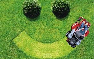 Košenje trave trimerom/kosilicom/traktor-kosilicom